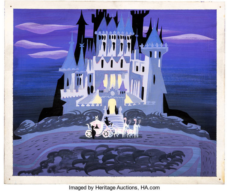 Mary Blair - Cinderella Castle