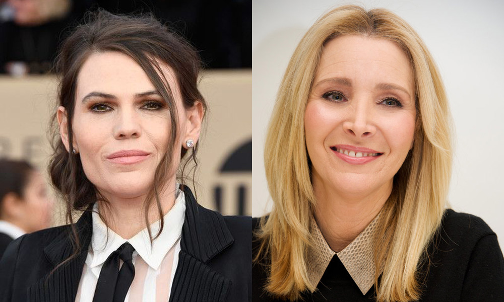 Clea Duvall and Lisa Kudrow