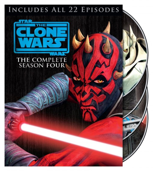 Star Wars: The Clone Wars - The Complete Season Four DVD/Blu-ray