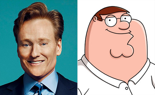Conan to Guest Voice on Family Guy