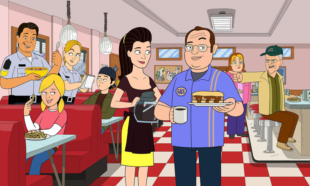 Corner Gas Animated