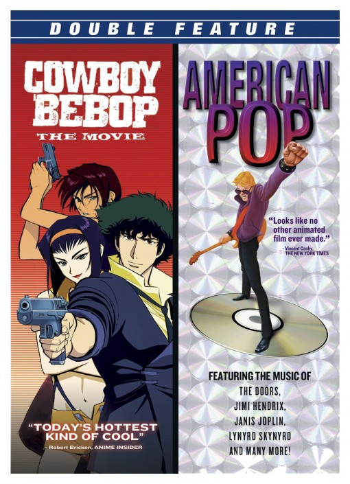 Cowboy Bebop / American Pop Double Feature DVD