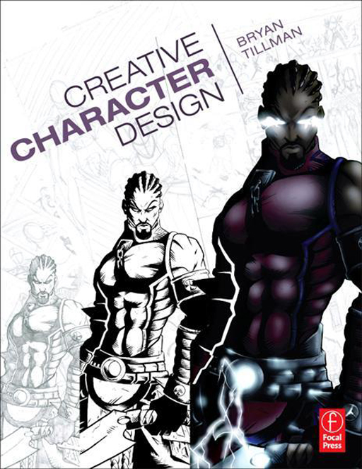 Comic Book Character Design : Check out animation magazine at comic con