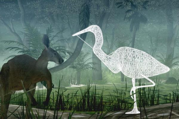 Creature Interactions: A Social Mixed Reality Playspace, by Andrew Bluff