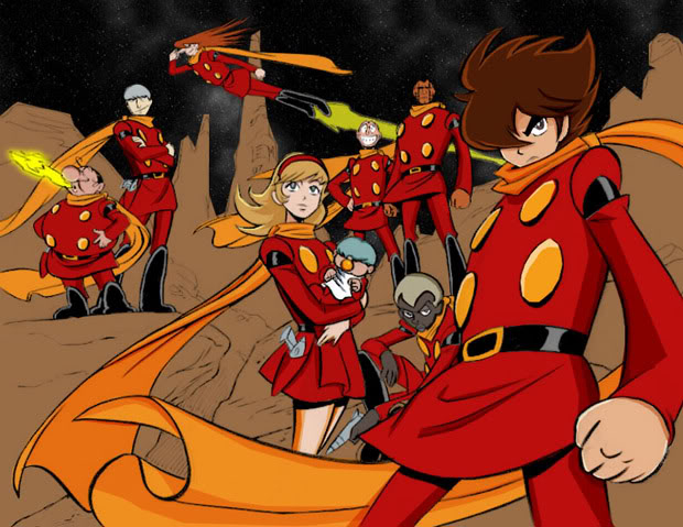 English Version of 'Cyborg 009' Planned for 2013