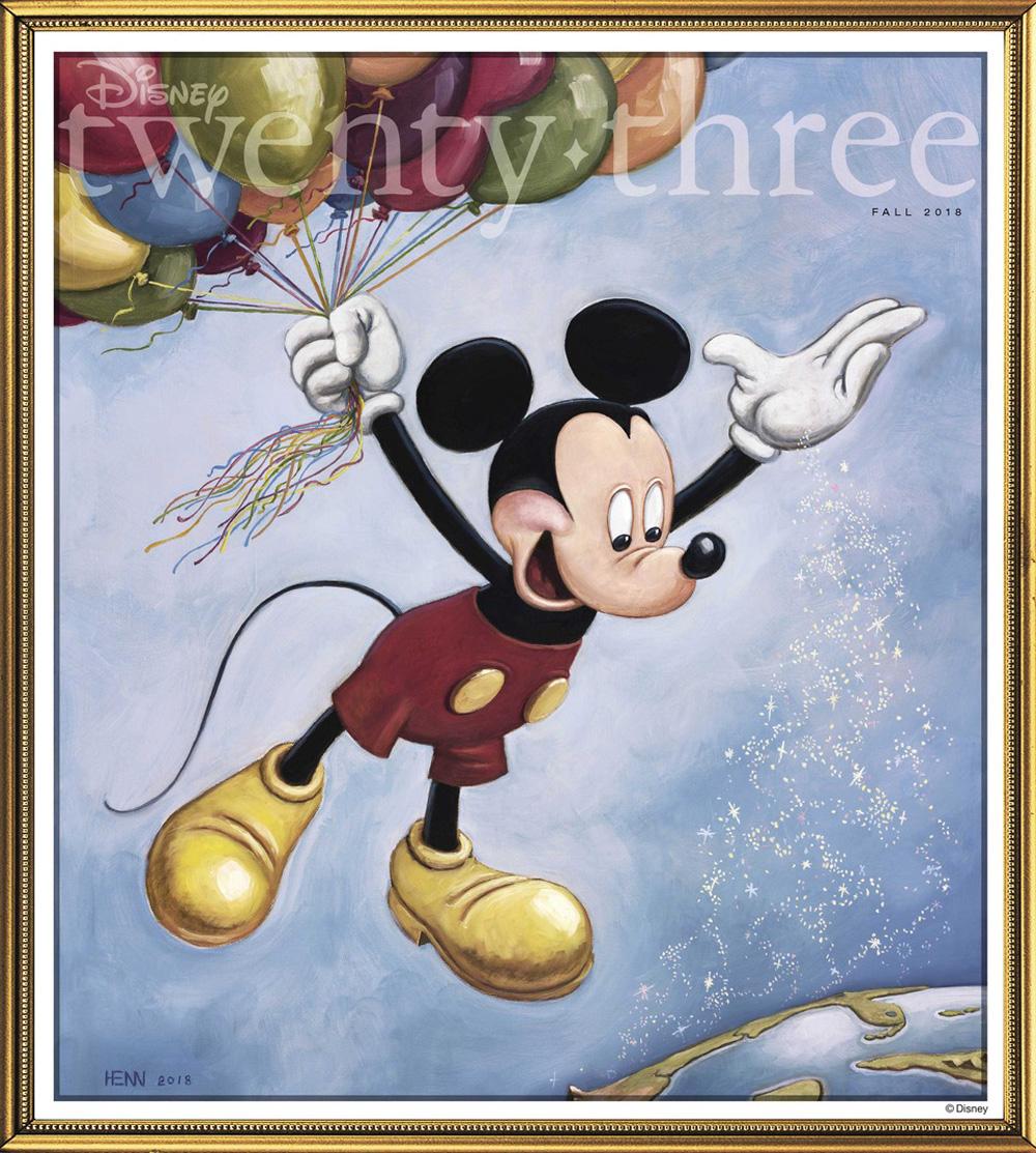 Disney 23 FA18 cover