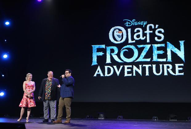 D23 Olaf's Frozen Adventure