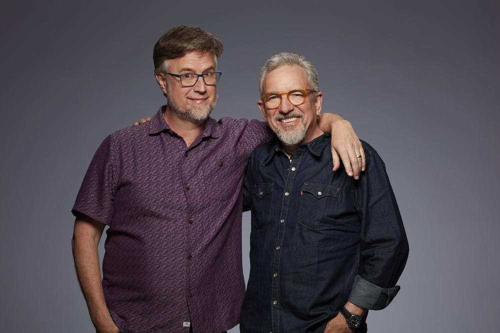 """Dan Povenmire and Jeff """"Swampy"""" Marsh"""