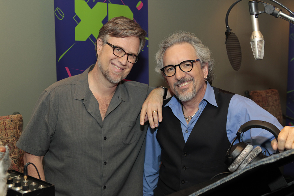 Dan Povenmire and Jeff Swampy