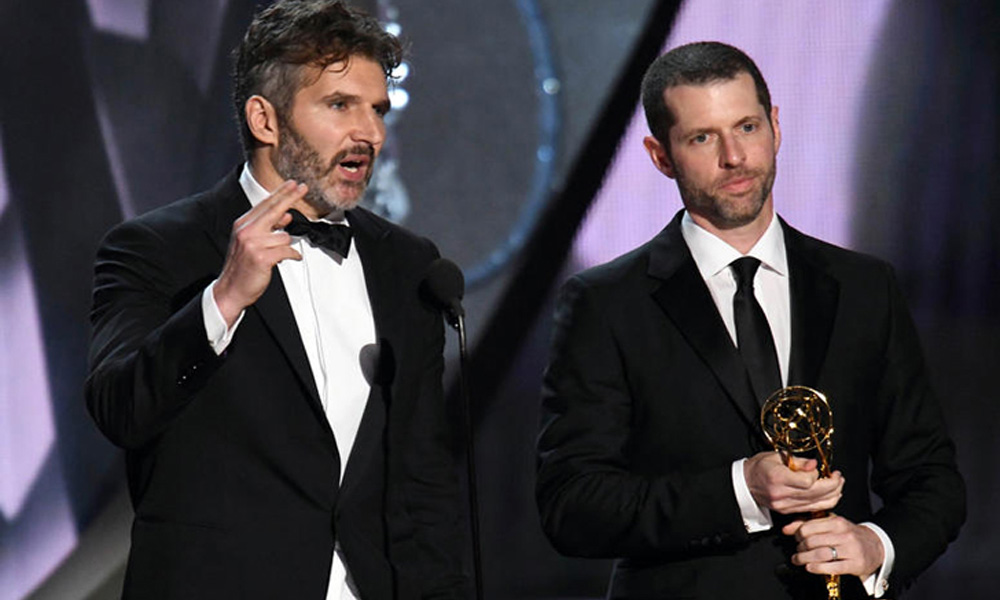 David Benioff (left) and Dan Weiss