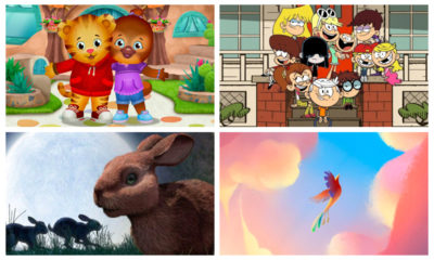 Daniel Tiger's Neighborhood / The Loud House / Watership Down / Crow: The Legend