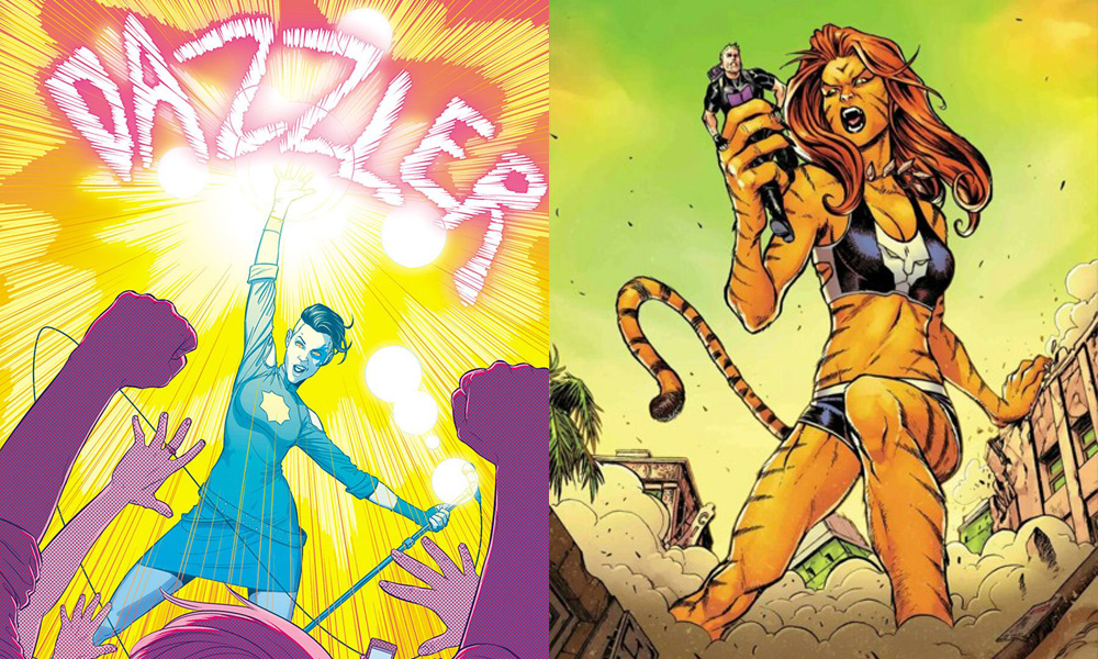 Dazzler and Tigra
