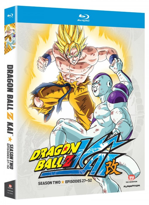 Dragon Ball Z Kai: Season 2 Blu-ray