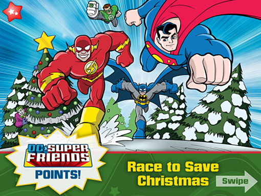 DC Super Friends app