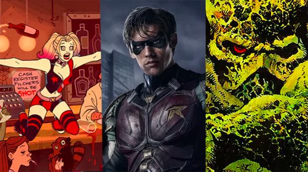 Photo collage: courtesy of Gizmodo/DC Universe