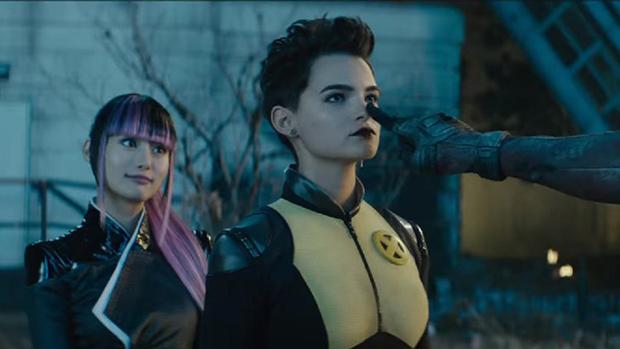 Yukio (Shioli Kutsuna) joins Negasonic Teenage Warhead (Brianna Hildebrand) as the Marvel movieverse's first undeniable queer couple in Deadpool 2.