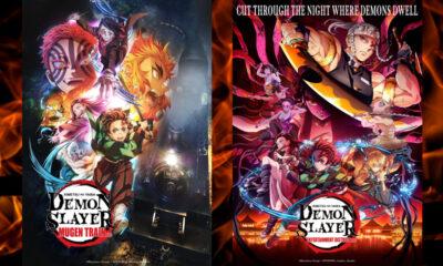 Demon Slayer: Kimetsu no Yaiba Mugen Train Arc | Demon Slayer: Kimetsu no Yaiba Entertainment District Arc [© Koyoharu Gotoge / SHUEISHA, Aniplex, ufotable]