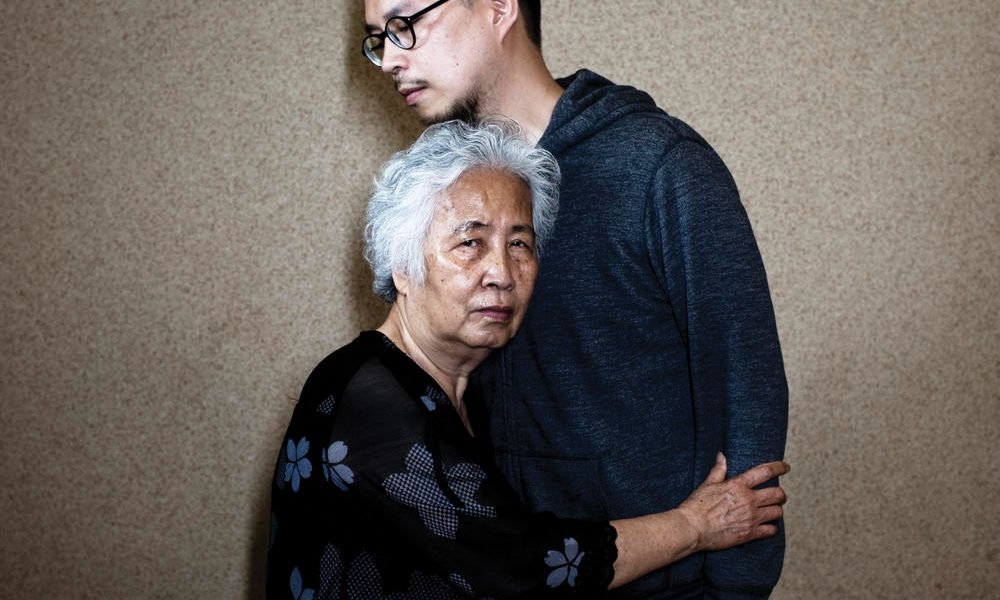 Denis Do and his mother
