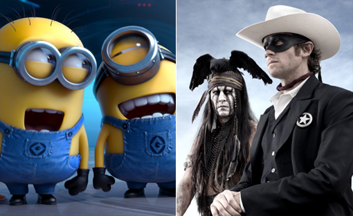 Despicable Me 2 / The Lone Ranger