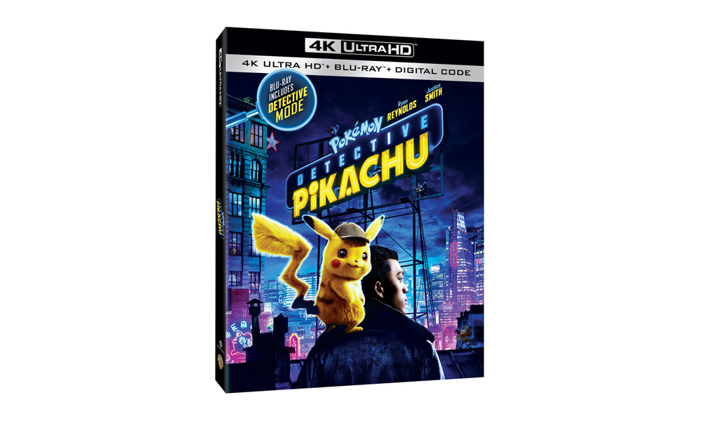 Gotta Catch 'Detective Pikachu' on Disc August 6 | Animation