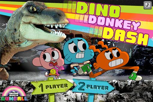 Dino Donkey Dash