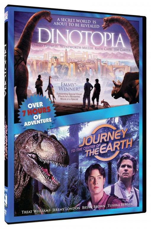 Dinotopia & Journey to the Center of the Earth Fantasy Double Feature
