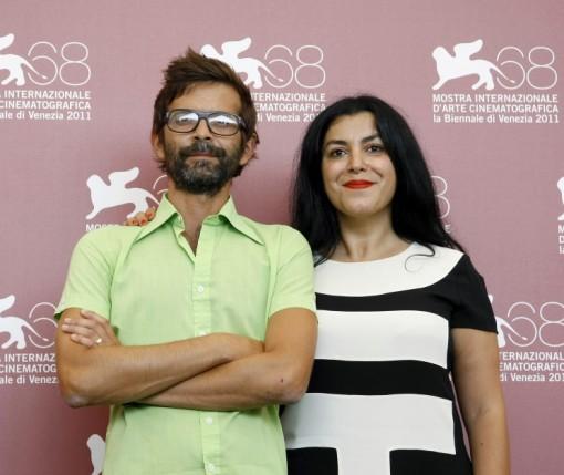 Director's Vincent Paronnaud and Marjane Satrapi