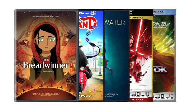 The Breadwinner / Ferdinand / The Shape of Water / Star Wars: The Last Jedi / Thor: Ragnarok