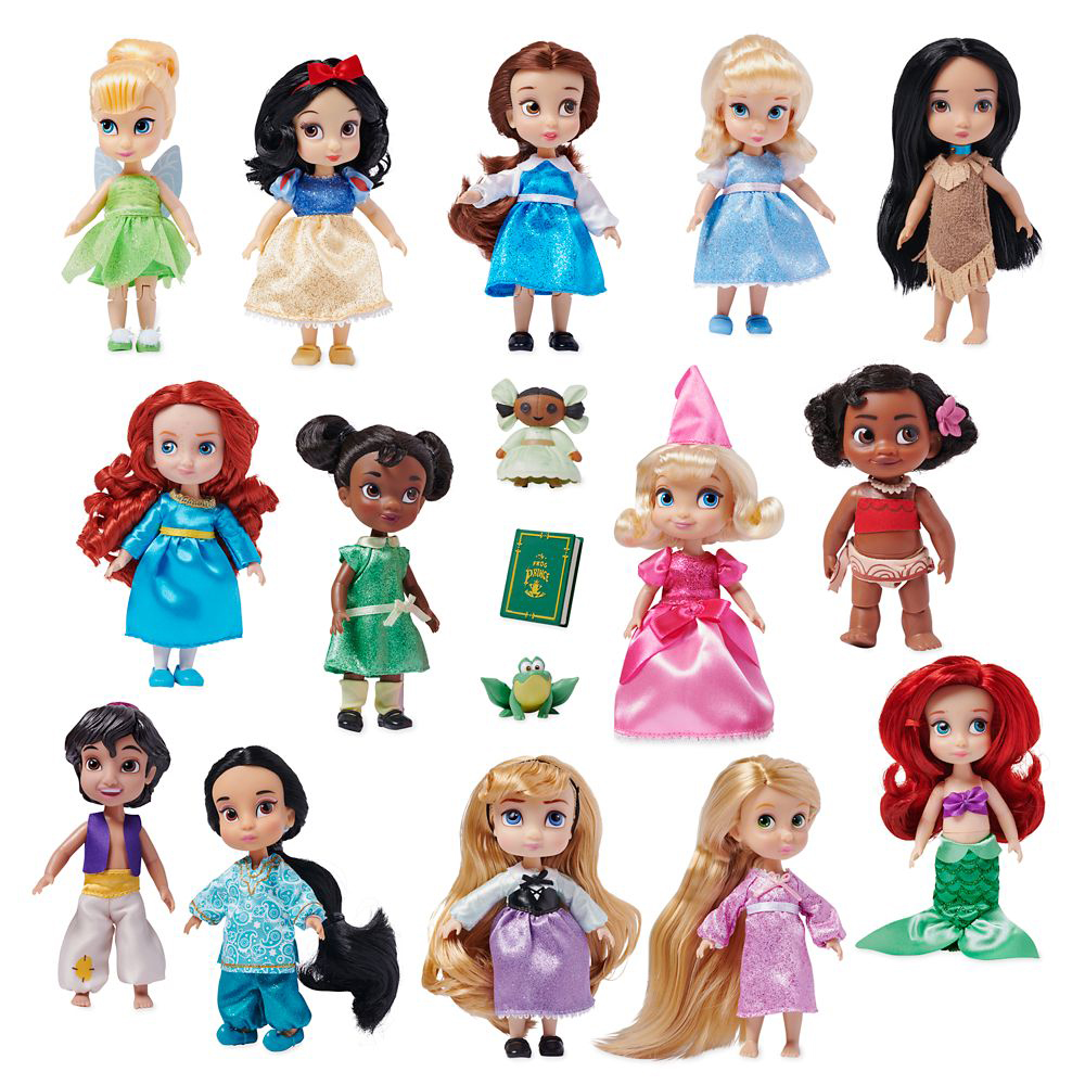 Disney Animators' Collection 5 Inch Mini Doll Gift Set