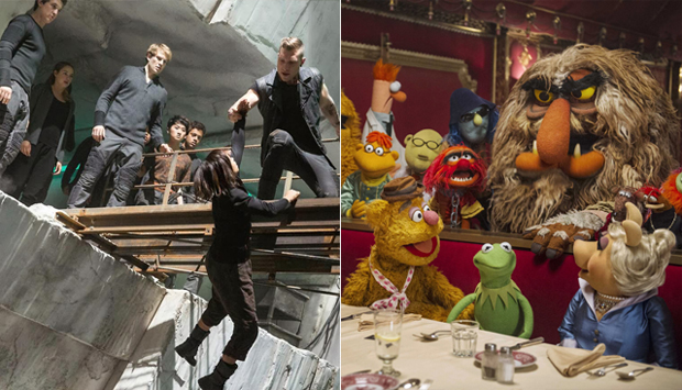 Divergent / Muppets Most Wanted