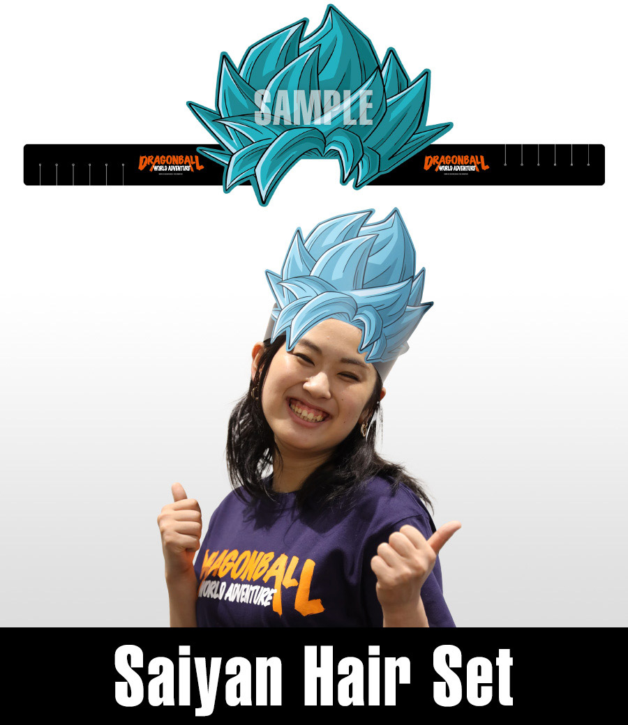 Dragon Ball Saiyan hair band