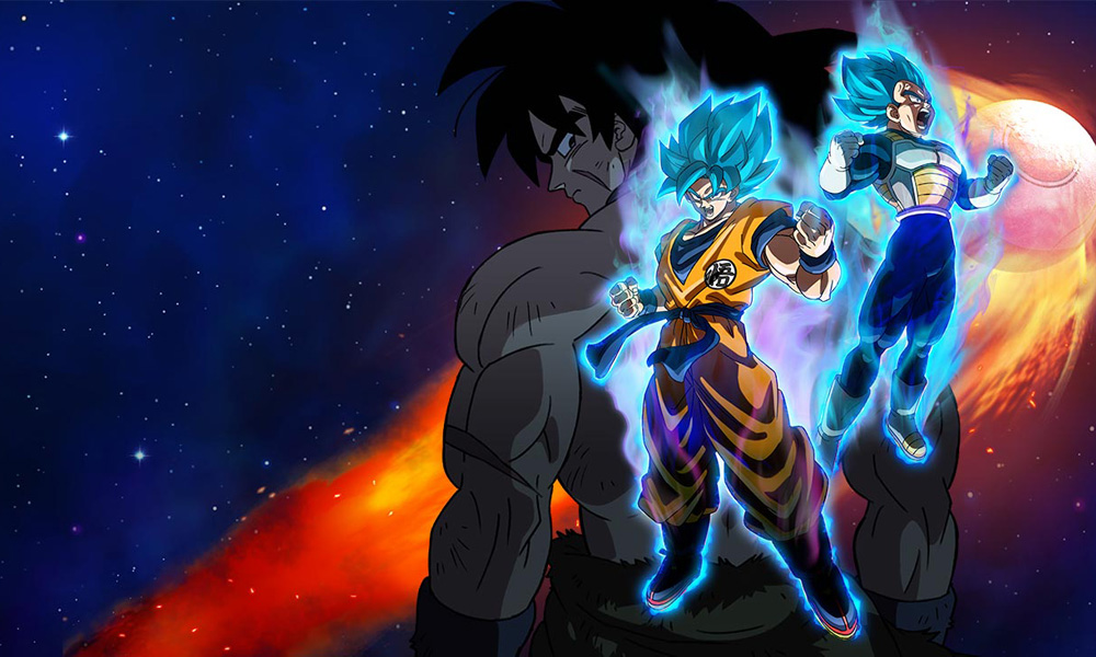 funimation unleashing dragon ball super broly in theaters
