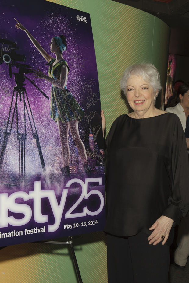 Editor THELMA SCHOONMAKER (also a presenter)