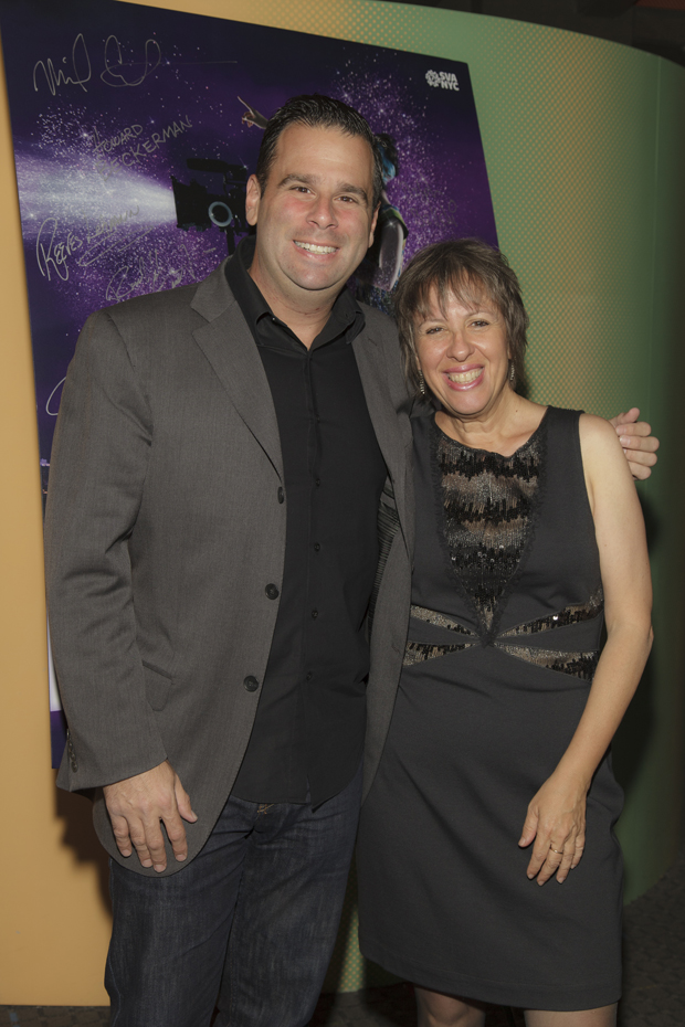 "Plus RANDALL EMMETT and YVETTE KAPLAN (both presenters) and both recipients of the inaugural ""Dusty Outstanding Alumni Award."""