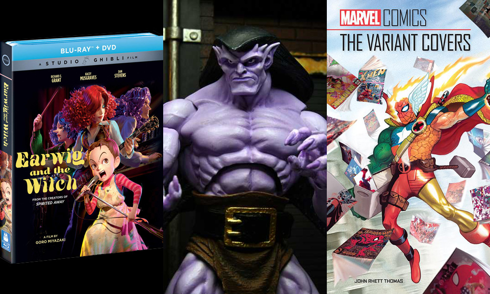 Earwig and the Witch / NECA Gargoyles Ultimate Goliath / Marvel Comics: The Variant Covers