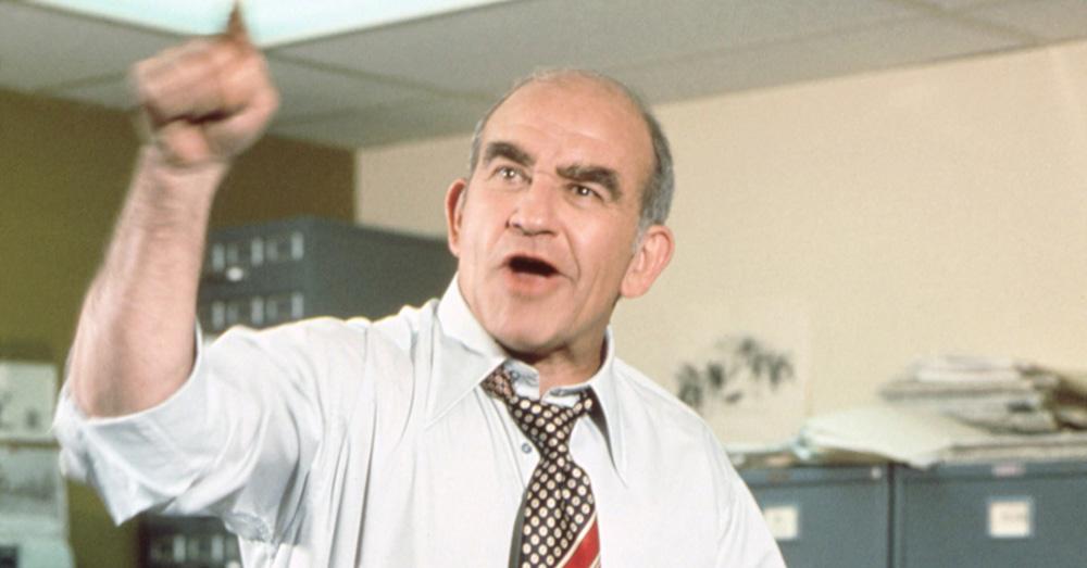 Ed Asner as Lou Grant
