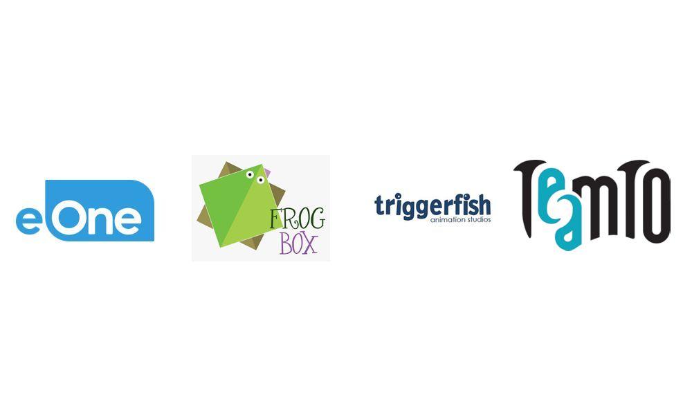 eOne, Frog Box, Triggerfish Animation Studios, TeamTO
