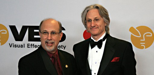 VES Eric Roth (left) and Jeffrey Okun