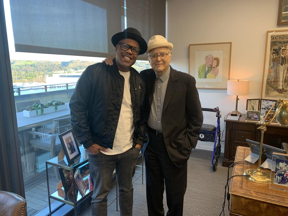 Erick Peyton and Norman Lear