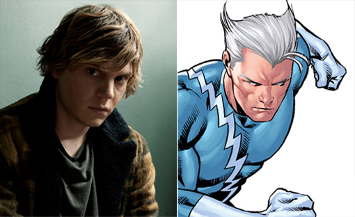 Evan Peters will play Quicksilver in his upcoming sequel X-Men: Future Past