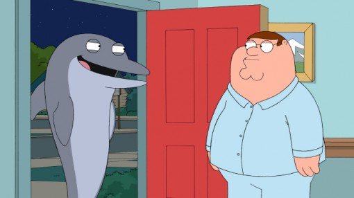 "Family Guy's ""Be Careful What You Fish For"" episode"