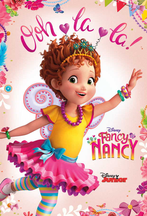 Fancy Nancy. Photo credit: Disney Junior