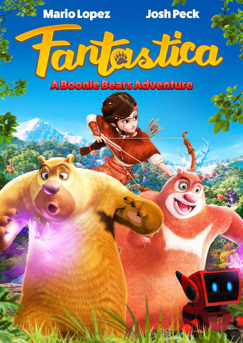 Josh Peck Gives First Look At Fantastica A Boonie Bears