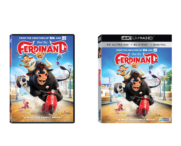 Ferdinand Blu-ray + DVD + Digital