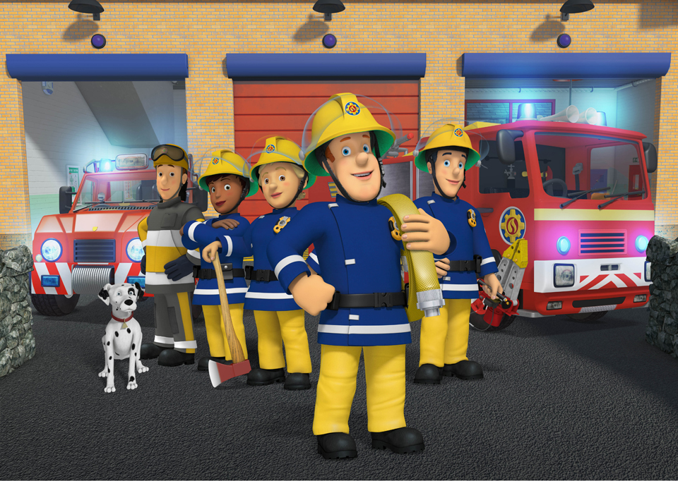 This is a picture of Ambitious Fireman Sam Pic