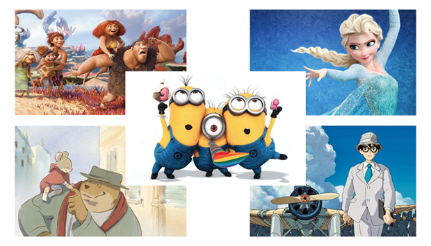 Five Animated Pics Nominated for Academy Awards