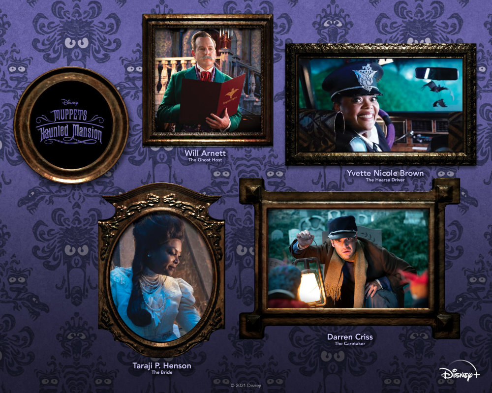 Muppets Haunted Mansion lead actors.