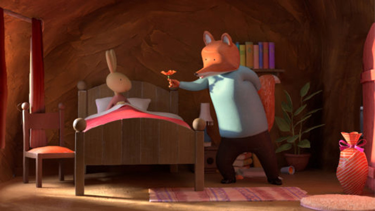 Fox and Hare Save the Forest