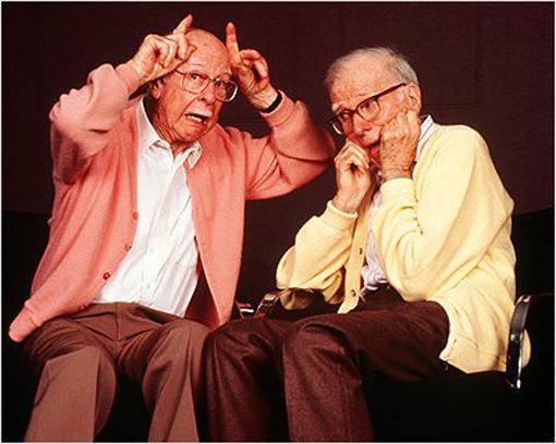 Frank Thomas (left) and Ollie Johnston