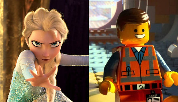 Frozen / The LEGO Movie